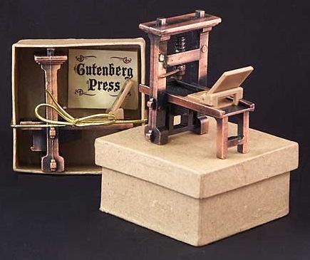 Gutenberg Printing Press,